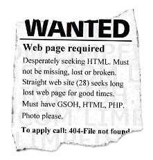 404 Wanted