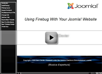 Video tutorial Firebug Joomla