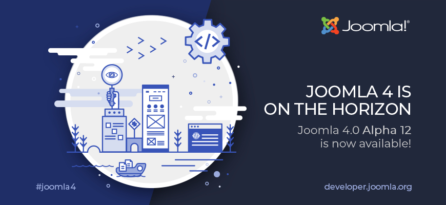 Joomla 4 Alpha 12 disponibile