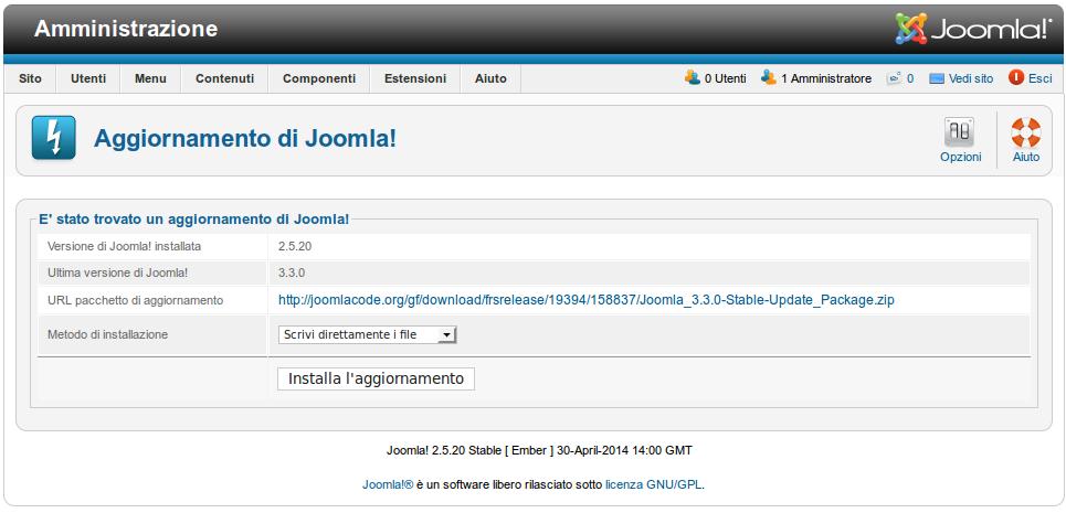 joomla 2.5.28
